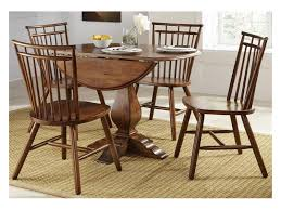 Drop Leaf Table And Chairs Creations Ii 5 Piece Round Drop Leaf Table Set Francis Furniture