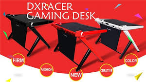 pc gaming desk chair dxracer pc gaming desk gd 1000 11street malaysia home office
