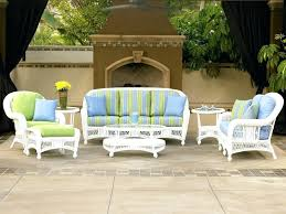 White Wicker Outdoor Patio Furniture White Wicker Outdoor Furniture Cape Wicker Outdoor