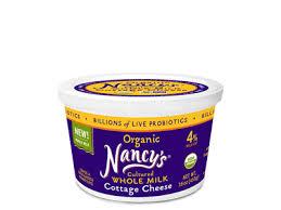 non dairy cottage cheese organic cottage cheese nancy s yogurt