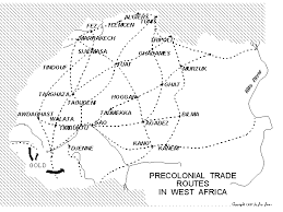 west africa map blank history resource page