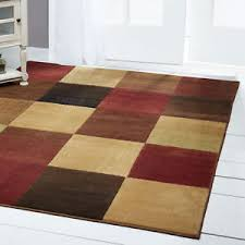 6x8 Area Rug Modern Abstract Multi 6x8 Area Rug Squares Carpet Actual 5 3 X