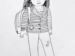 download american doll coloring pages ziho coloring