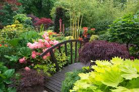 Photos Flowers Gardens by Beautiful Flower Gardens Waterfalls Also Incredible Home Garden Hd