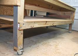 Easy Wood Workbench Plans by Strong Tie Workbench Google Search House Workshop Pinterest