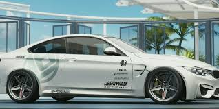 bmw m4 widebody everything you need to know about customization in forza horizon 3