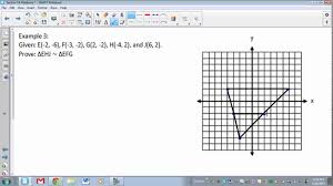 geometry section 7 6 dilations and similarity in the coordinate