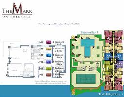 Icon Brickell Floor Plans The Mark