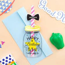 aliexpress com buy 1 set han edition straw birthday card