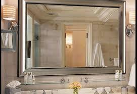 Bathroom Lighted Bathroom Mirror 25 Lighted Bathroom Mirror Mirror Custom Size Mirrors Bathrooms 25 Cool Ideas For Bathroom