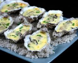 comment cuisiner des huitres huîtres chaudes au chagne recette de huîtres chaudes au