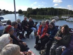 Southern Comfort Norfolk Cameo Boat Trip North Walsham Dementia Support Group