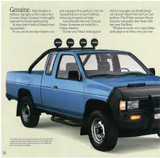 nissan pickup 4x4 1989 nissan hardbody dealer brochure nicoclub