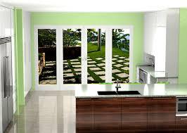 walnut modern kitchen custom modern kitchen with gloss white and walnut finish nick