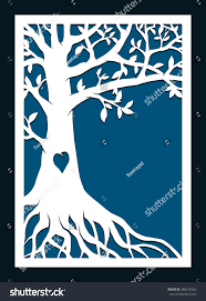 abstract frame family tree may be stock vector 486276502