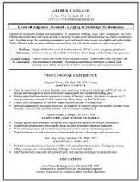 Sample Resume For Maintenance Worker by Building Maintenance Resume Sample Resume Professional Welder