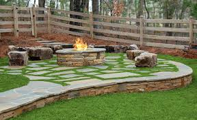 Firepit Rocks Atlanta Fireplaces Outdoor Pits Grills