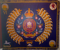 Color Of Irish Flag File Colour Of The Royal Welch Fusiliers Jpg Wikimedia Commons