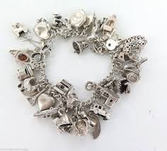 antique charm bracelet charms images Slide by sweet romance vintage charm bracelets jewelry jpg