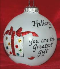 special granddaughter ornament personalized new