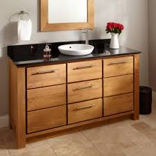 Bamboo Bath Vanity Cabinet Bathroom Engaging Bamboo Bathroom Cabinets For Your Inspiration