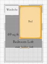 free 8 u2032 x 12 u2032 tiny house plan with loft