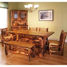bedroom enchanting log cabin dining room furniture 98 with
