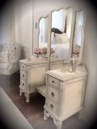 make up dressers best 25 refinished vanity ideas on painted vanity
