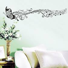Butterfly Wall Decals For Nursery by Decorative Music Butterfly Wall Stickers Wall Art Decal