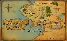 Cool Maps Of The World by New Map Of Middleearth For Lotro