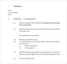 security plan template security incident response template
