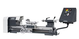 wabeco cc d6000 cnc lathe with 4 jaw 125mm chuck and nccad