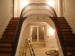 Wrought Iron Banister Rails Traditional Railings Custom Ironwork Located In Connecticut