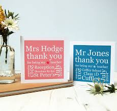 personalised thank you card by spotty n stripy