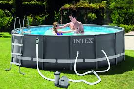 Intex Metal Frame Swimming Pools Intex 16 U0027 X 48