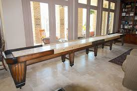 How Long Is A Shuffleboard Table by Shuffleboard Table Reviews Mcclure Tables