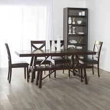 solid wood trestle dining table loon peak chiswick solid wood trestle extendable dining table