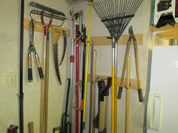 storing tools and other garden items the backyard gardener anr