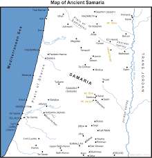 Ancient Mesopotamia Map Map Of Samaria Bible History Online