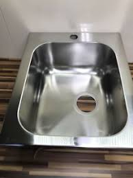 1 bowl kitchen sink apell 1 bowl kitchen sink drainer stainless steel 1 5 new ebay