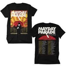 parade merchandise mayday parade