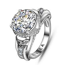 skull wedding rings cz skull engagement ring for women aphrodite