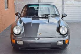 porsche slate gray metallic 1991 porsche 911 turbo 964 rare slate gray metallic in miami fl