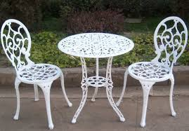 White Patio Furniture Set 12 Patio Furniture Table And Chairs Carehouse Info