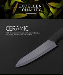 3pcs 5 u0027 u0027 4 u0027 u0027 3 u0027 u0027 colored black blade ceramic knife set cutlery