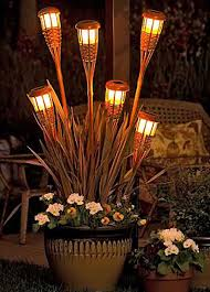 Tiki Patio Lights Overhead Patio Solar Light Ideas Patio Deck Tree Solar Lights