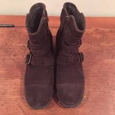 ugg womens finney boots 73 ugg shoes ugg finney brown suede boots w buckles from