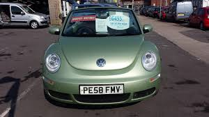 dark green volkswagen used volkswagen beetle green for sale motors co uk