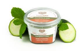 ag e angle cuisine courgette mint foodie