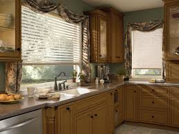 eat in kitchen window treatment ideas kitchen window treatment